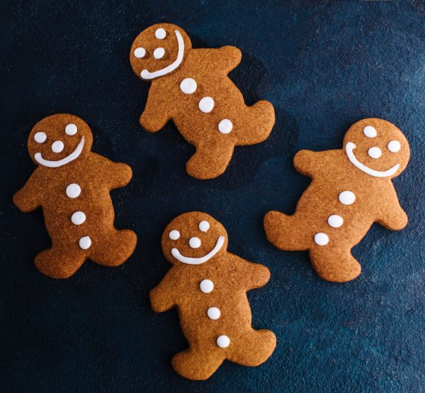 Gingerbread men (4 pack)